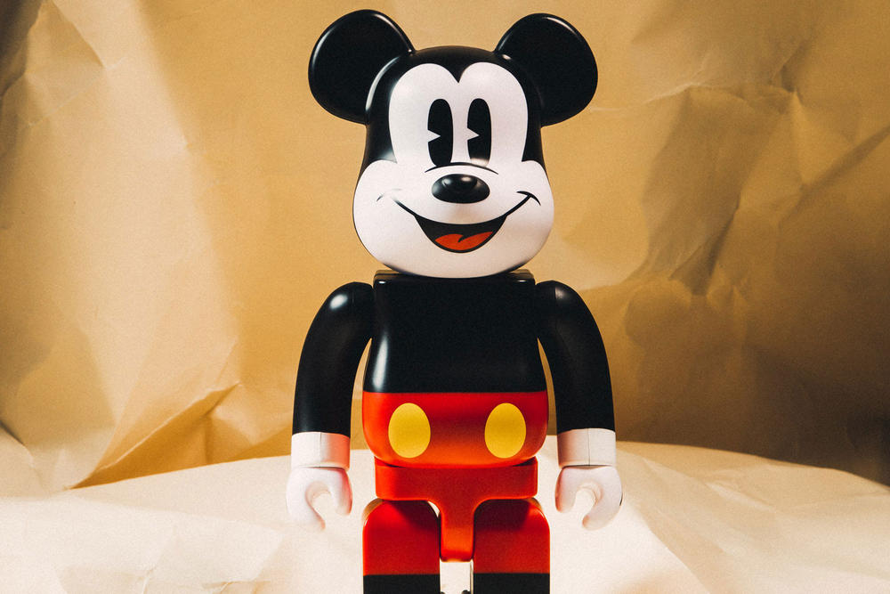 Mickey Mouse BEARBRICK