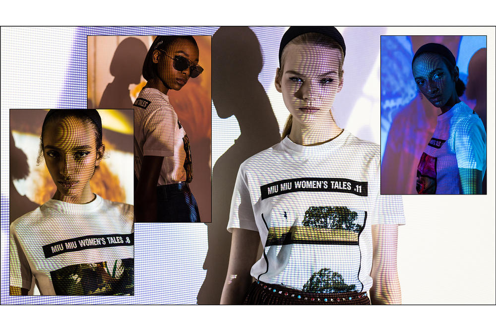 miu miu short films womens tales tshirts tees female creatives