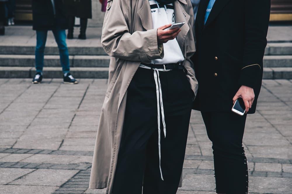Streetsnaps Moscow Fashion Week 2018 Jacket Blazer Khaki Black