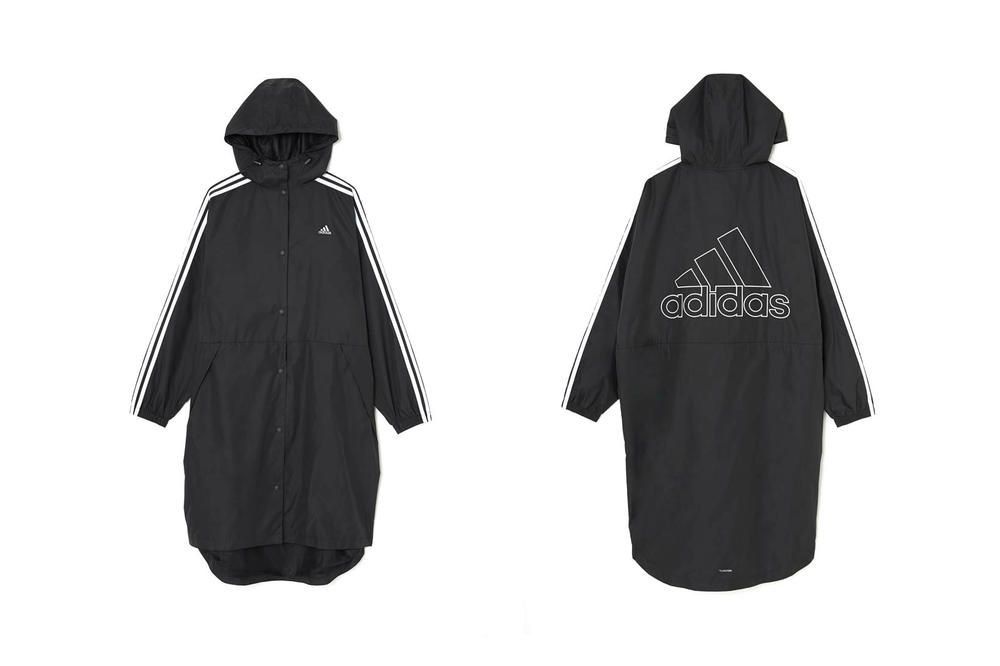 MOUSSY adidas Japan Spring Summer 2018 Collection Backlogo Wind Jacket Black