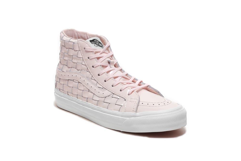 Naked x Vans Vault OG Sk8-Hi LX Petal Pink