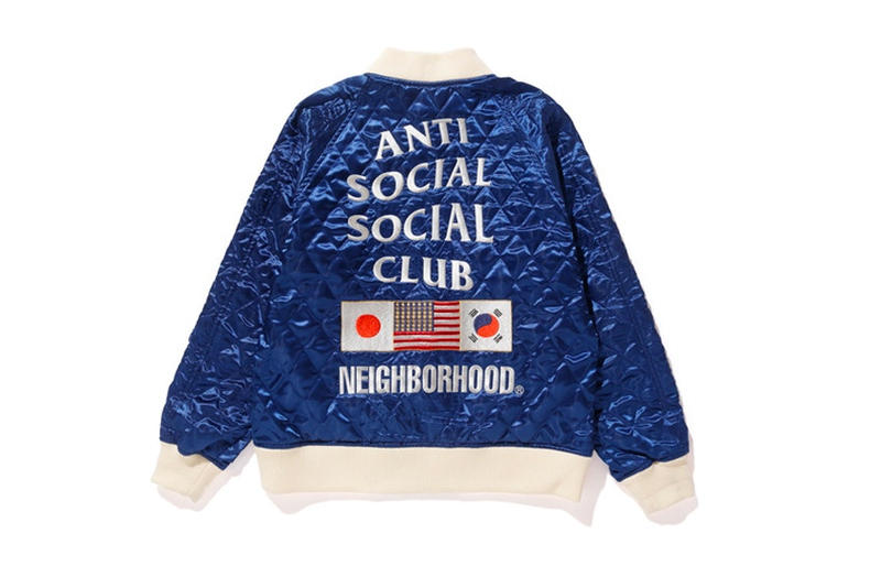 NEIGHBORHOOD x Anti Social Social Club Capsule Collection Streetwear Tokyo Isetan