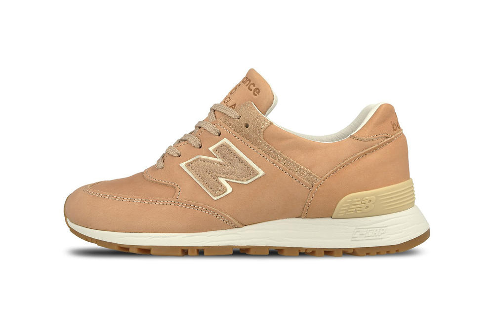 New Balance 576 Horween Leather Co Vegetable Tanned Brown