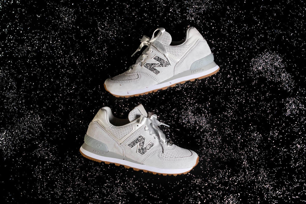 sports shoes e028d 16861 New Balance Covers NB1 574 in Swarovski Crystals | HYPEBAE