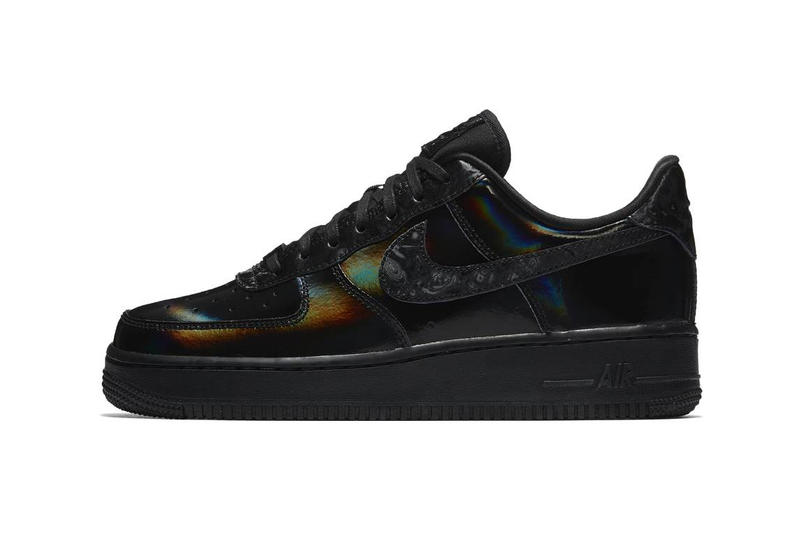 new style 9a1d9 0d025 Nike Air Force 1 Releases In Glitzy Black White | HYPEBAE