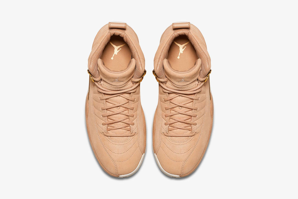 air jordan 12 womens exclusive vachetta tan nike top profile insole