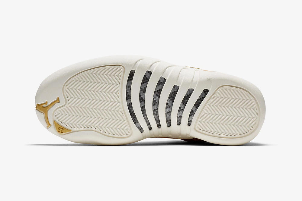 air jordan 12 womens exclusive vachetta tan nike bottom outsole