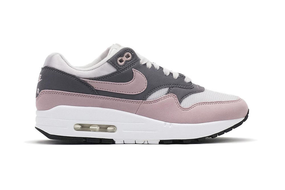 Nike Air Max 1 Vast Grey Particle Rose womens wmns sneaker retro pastel millennial pink leather