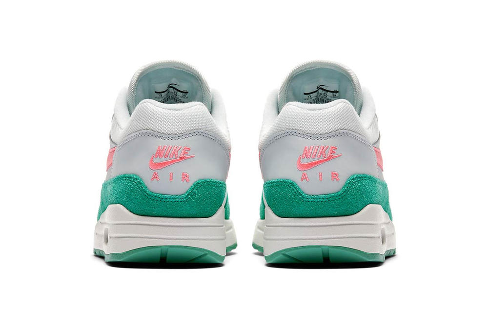 Nike Air Max 1 Watermelon Kinetic Green Sunset Pulse Pink