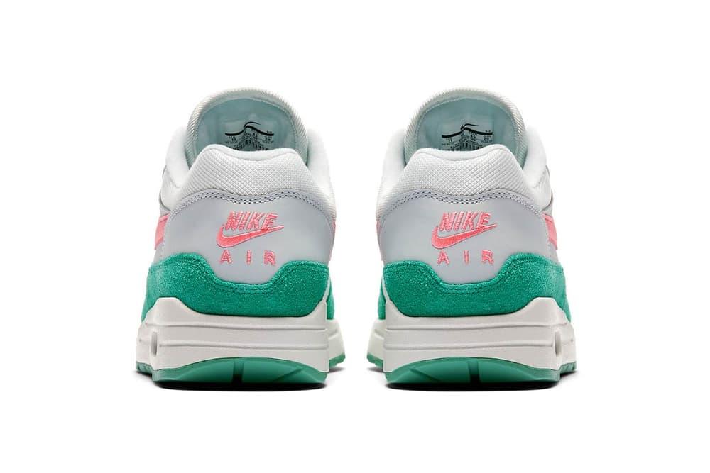 Nike Air Max 1 Watermelon Kinetic Green Sunset Pulse Pink