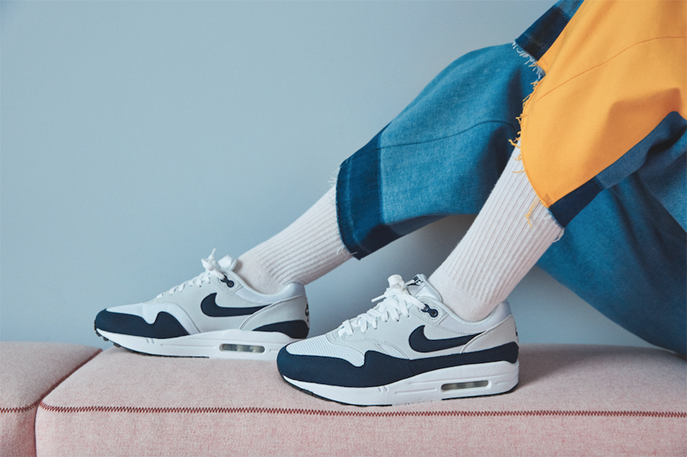 new style fde58 661d4 Nike Women s Only Air Max 1 Sneakers ladies girls spring 2018 particle rose  grey black navy