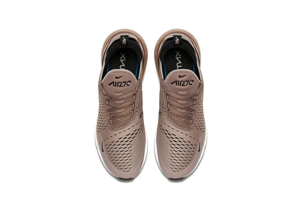 "Nike Air Max 270 ""Tan"" Colorway Shoe Sneaker 270 Air Unit Swoosh Breathable Beige Earthy Earth Brown Bronze Nude"