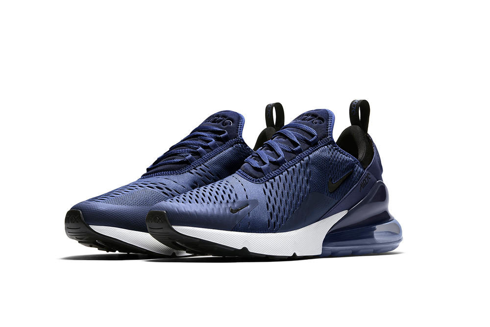 Nike x JD Sports Air Max 270 Navy Colorway Sneaker Shoe Air Unit Blue Crisp Exclusive