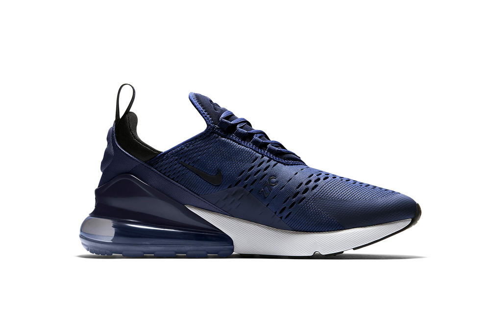 de972879fd Nike x JD Sports Air Max 270 Navy Colorway Sneaker Shoe Air Unit Blue Crisp  Exclusive