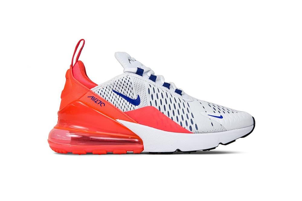 e570c2c041 Shop Nike Air Max 270 In Ultramarine/Solar Red | HYPEBAE