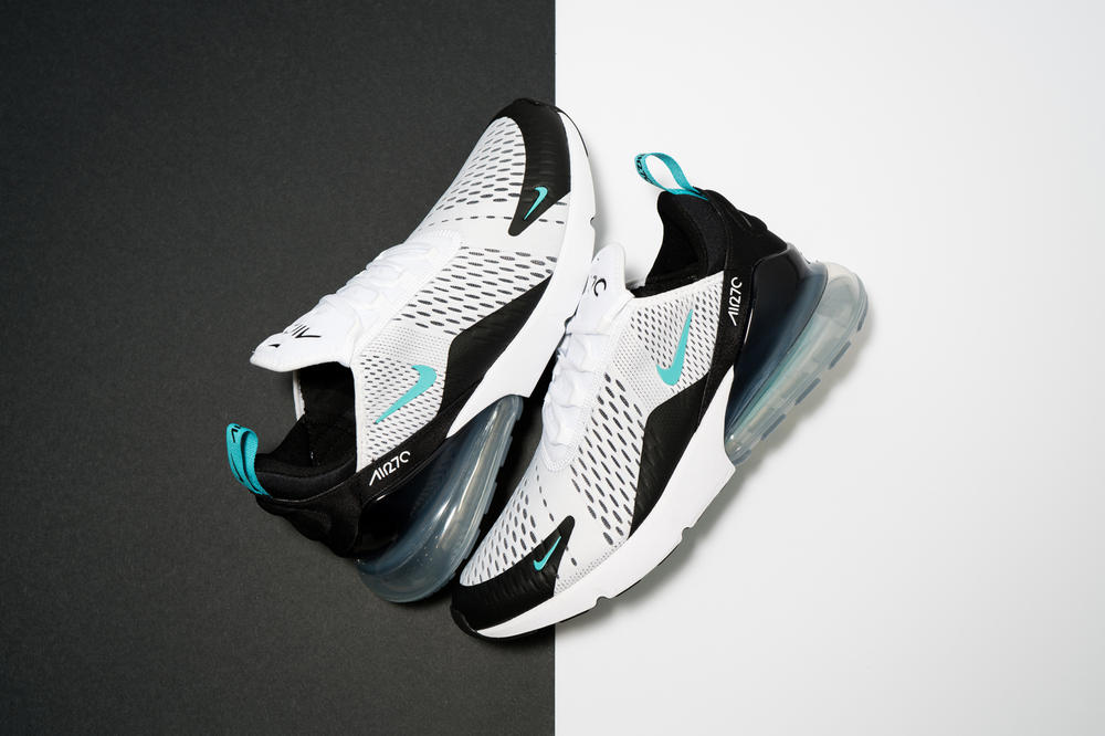 Nike Air Max 270 Black White Teal