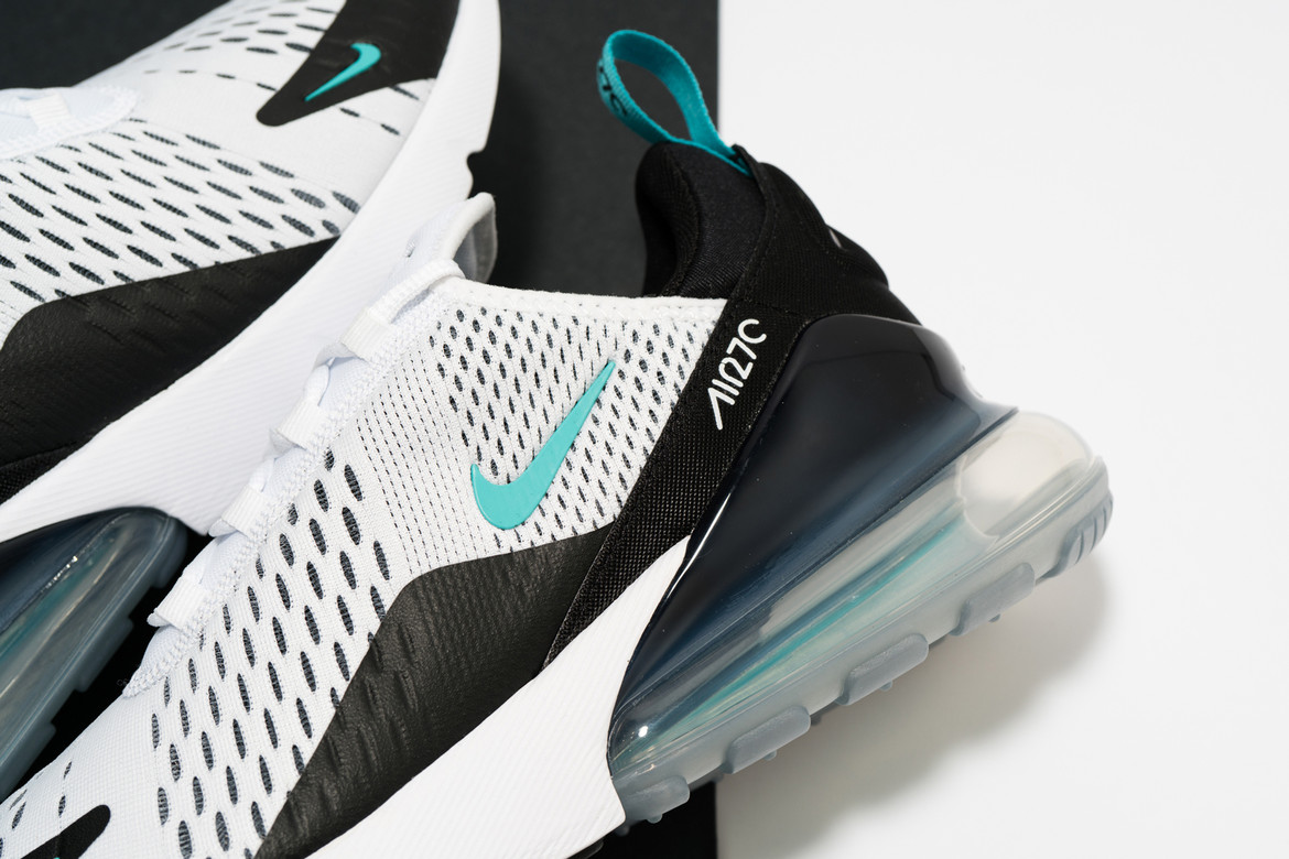 Nike Releases Air Max 270 In Black White Teal Hypebae