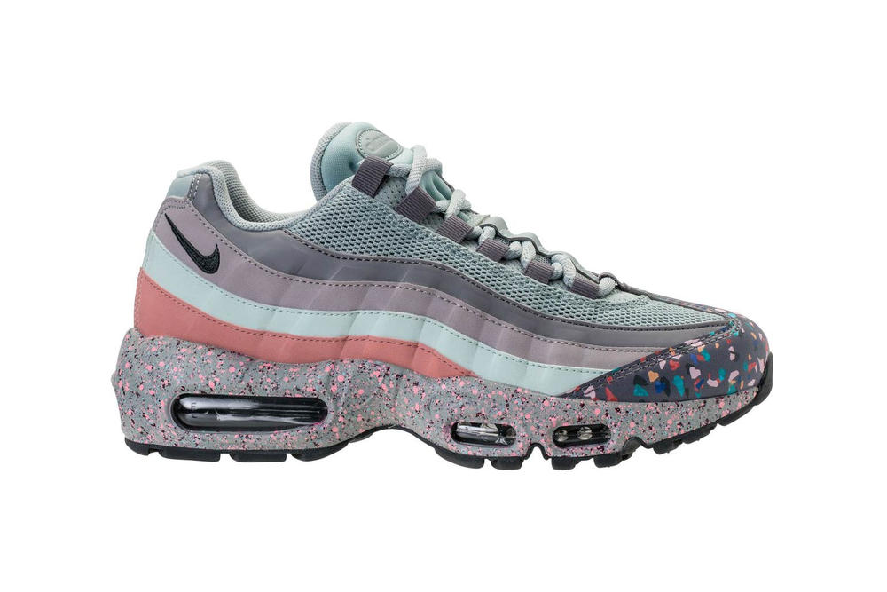 Nike Air Max 95 Confetti Light Pumice Anthracite Fiberglass