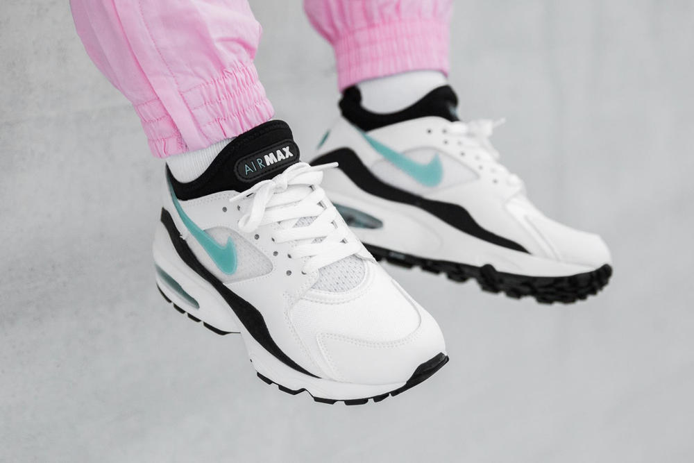 Nike Air Max 93 Dusty Cactus Turquoise Women s Ladies Girls sneakers  trainers where to buy Unisex b72870337