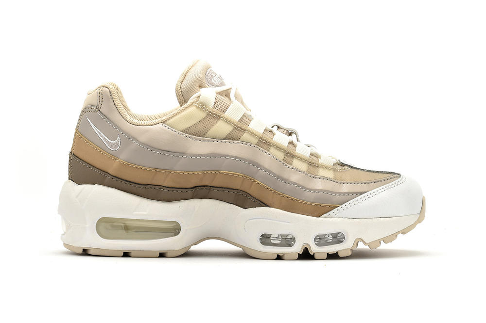 Nike Air Max 95 Desert Sand Moon Particle Brown Gradient Beige Off White  Tan Neutral Women s da3632f3c