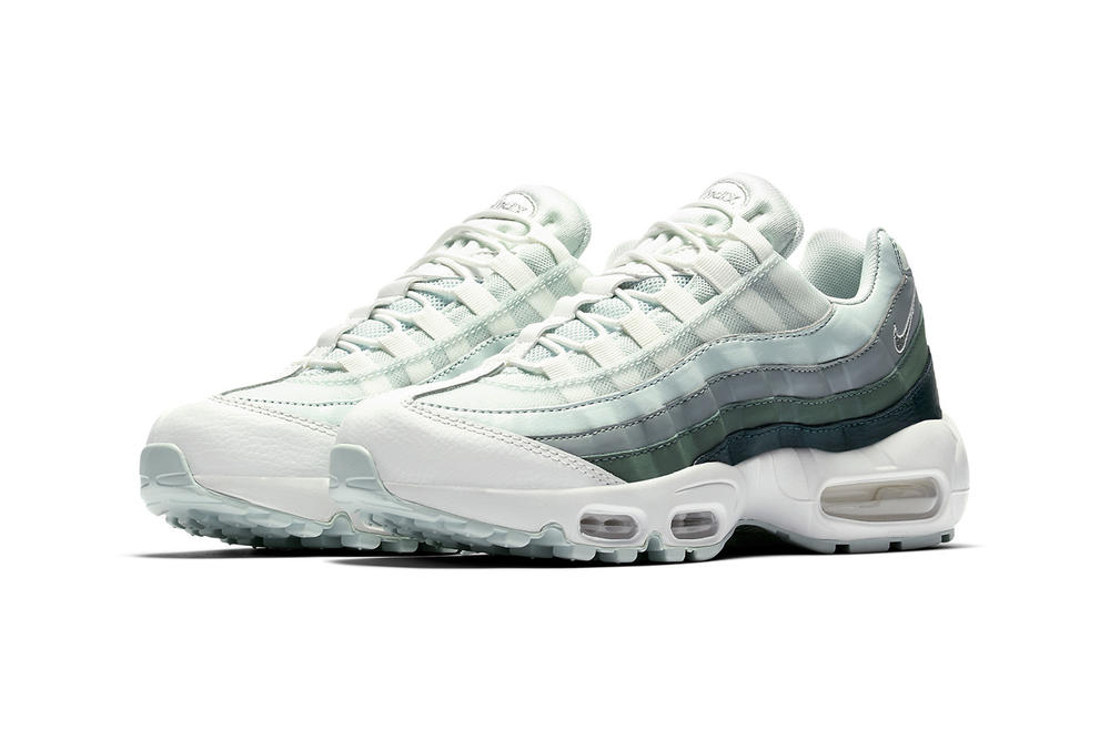 Nike Air Max 95 Green Gradient Light Dark Ombre Mint mens women's unisex sneakers trainers release info where to buy