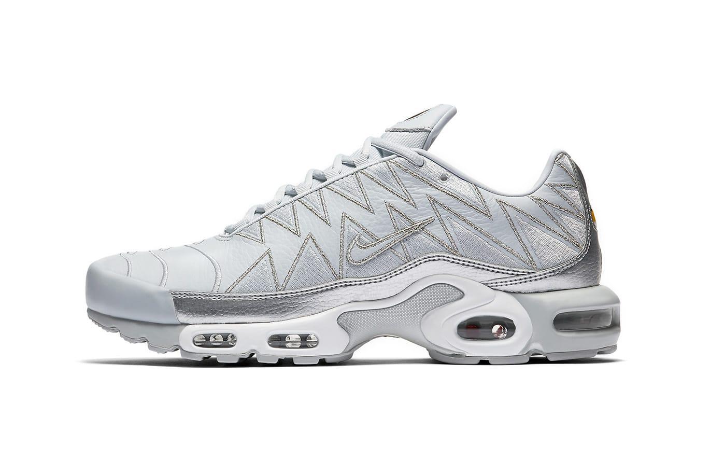 Nike Drops Air Max Plus Metallic Silver