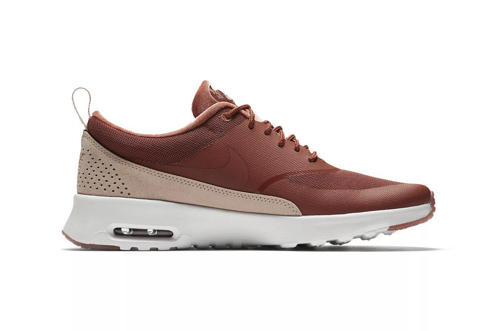 Nike Air Max Thea LX Dusty Peach Velvet Pink Rose Gold Ladies Women's Girls Sneakers where to buy