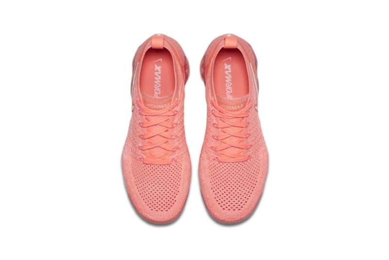 Nike Air VaporMax Flyknit 2.0 Crimson Pulse Sail Coral Sand