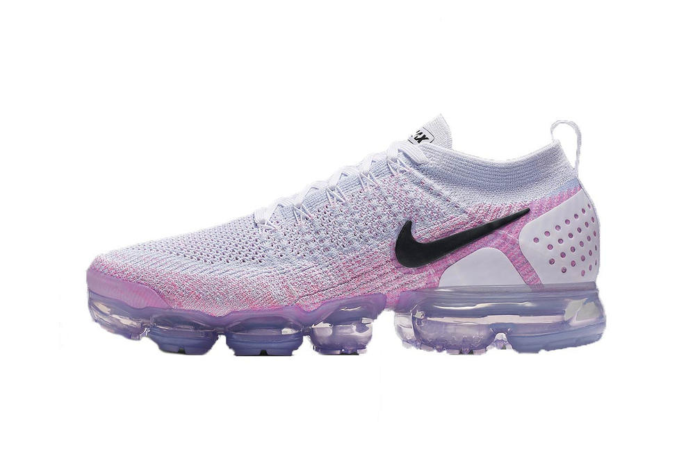 df9a62cc4219 Shop Nike Air VaporMax Flyknit 2.0 in Pink Beam