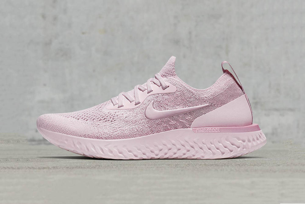 best cheap 78a7b 071b4 Nike Epic React Flyknit in Pink and Matcha Cream | HYPEBAE