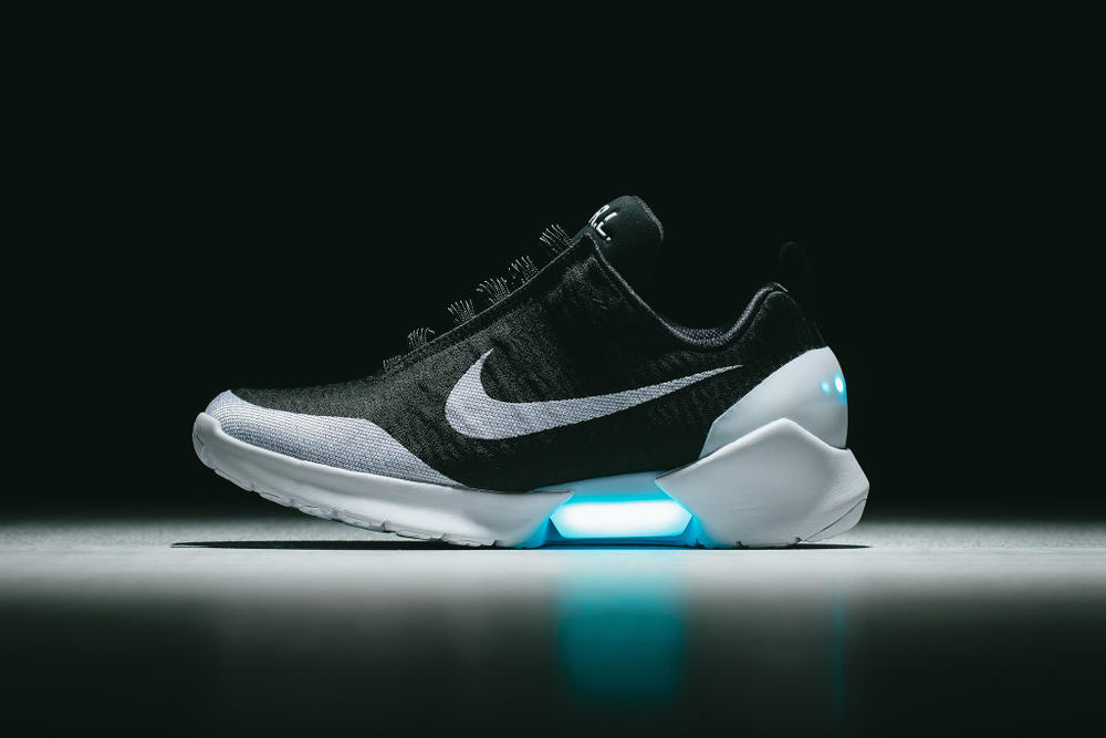 Nike HyperAdapt Self-Lacing Sneaker 1.0 New Colorways Technology White Black Green Orange