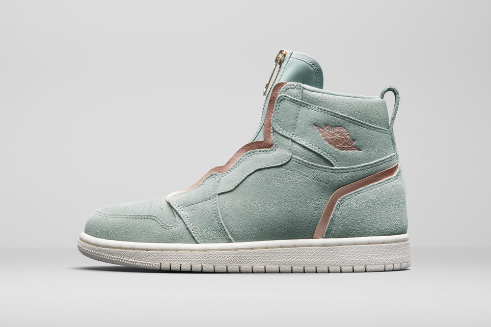 cheap for discount ed72e ed209 Nike. Jordan Brand Summer 2018 Women s Styles AJ 1 High Zip