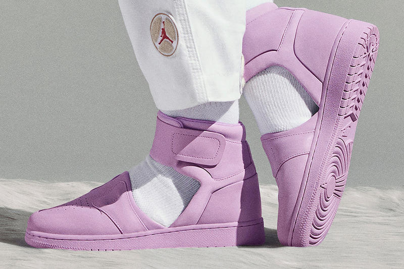 Nike The 1 Reimagined Collection Air Jordan 1 Lover Violet Mist