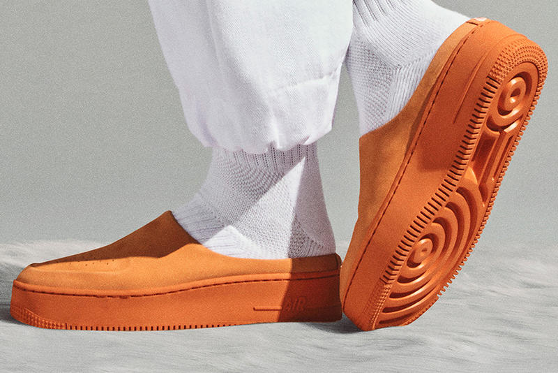 Nike The 1 Reimagined Collection Air Force 1 Lover Cinder Orange