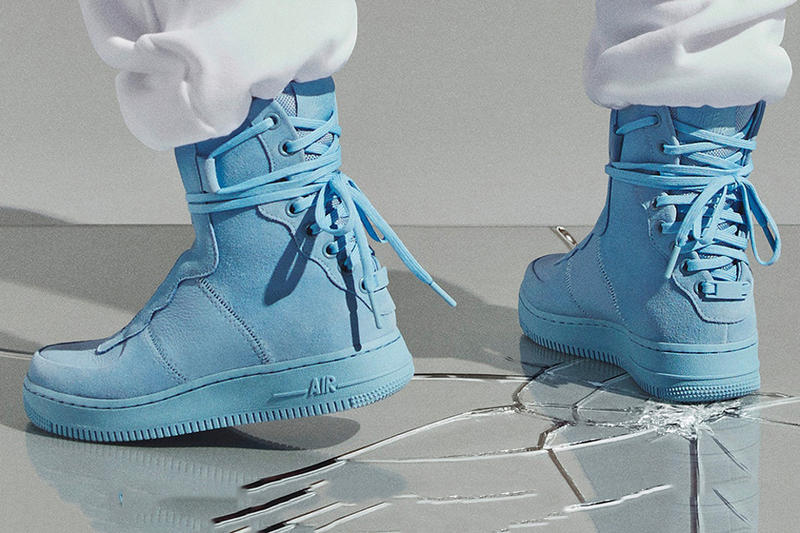 Nike The 1 Reimagined Collection Air Force 1 Rebel Light Blue
