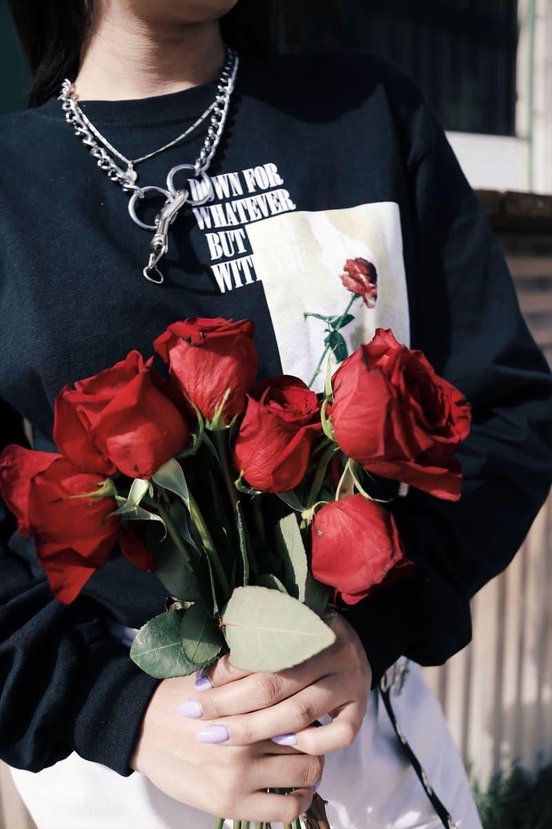 "HLZBLZ ""NO HARD FEELINGS"" Capsule Collection Lookbook Streetwear Grunge Aesthetic T-Shirt Longsleeve Print Graphics"