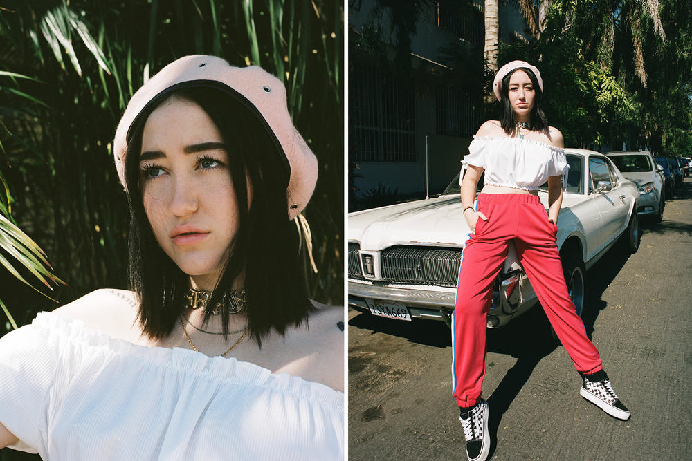 Noah Cyrus Editorial Interview Miley Sister Beret Vans