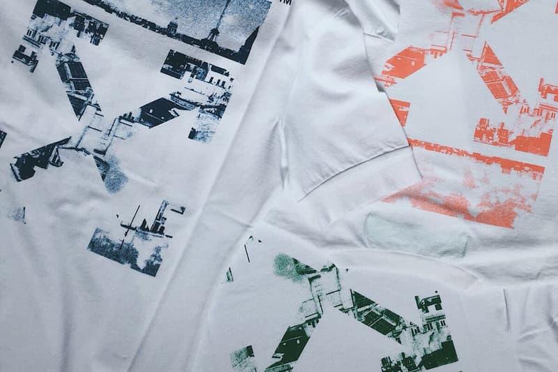 Off-White Le Bon Marche Collaboration T-Shirts