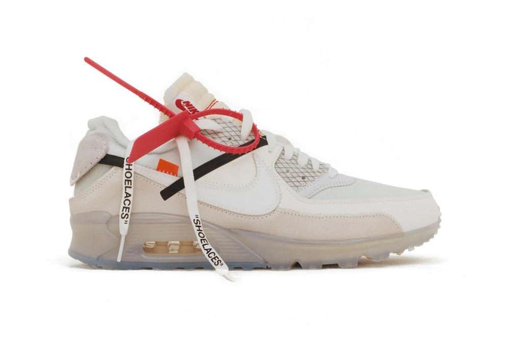 Depop Drops Nike Air Max Day Collaborations Limited Edition Off-White Virgil Abloh The Ten Undefeated Air Max 90 Air Max 97