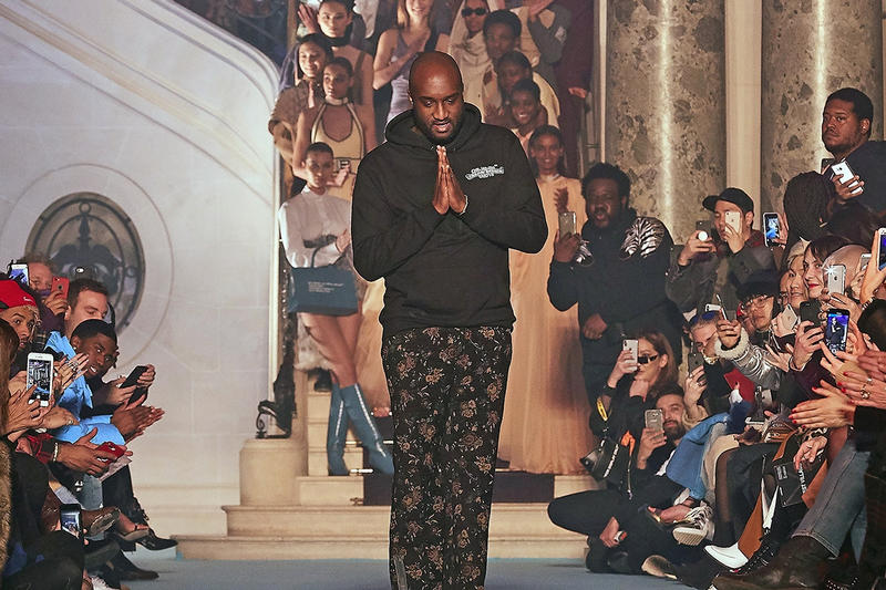 off white virgil abloh paris fashion week riot
