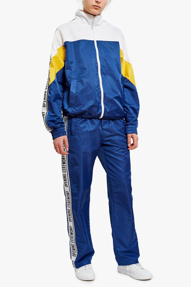 Opening Ceremony Retro Tracksuits in Blue/Red White Sporty Fashion Trend Vintage
