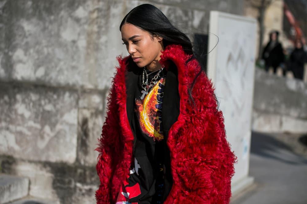 Paris Fashion Week 2018 Streetsnaps Women Aleali May