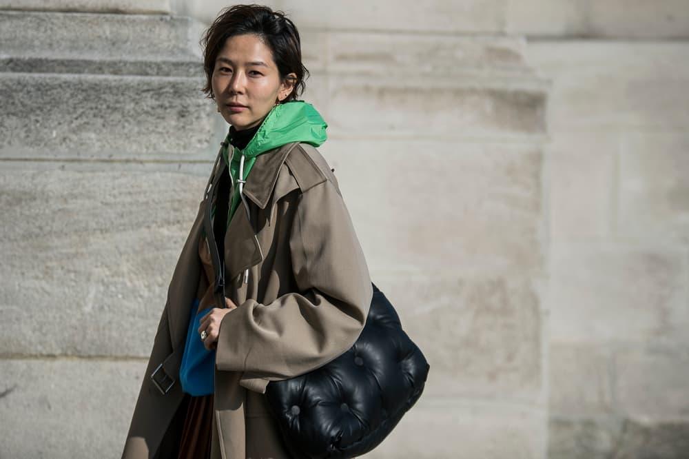 Paris Fashion Week 2018 Streetsnaps Women