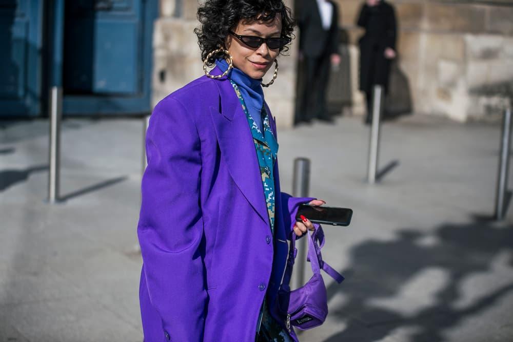 Paris Fashion Week 2018 Streetsnaps Women Blazer