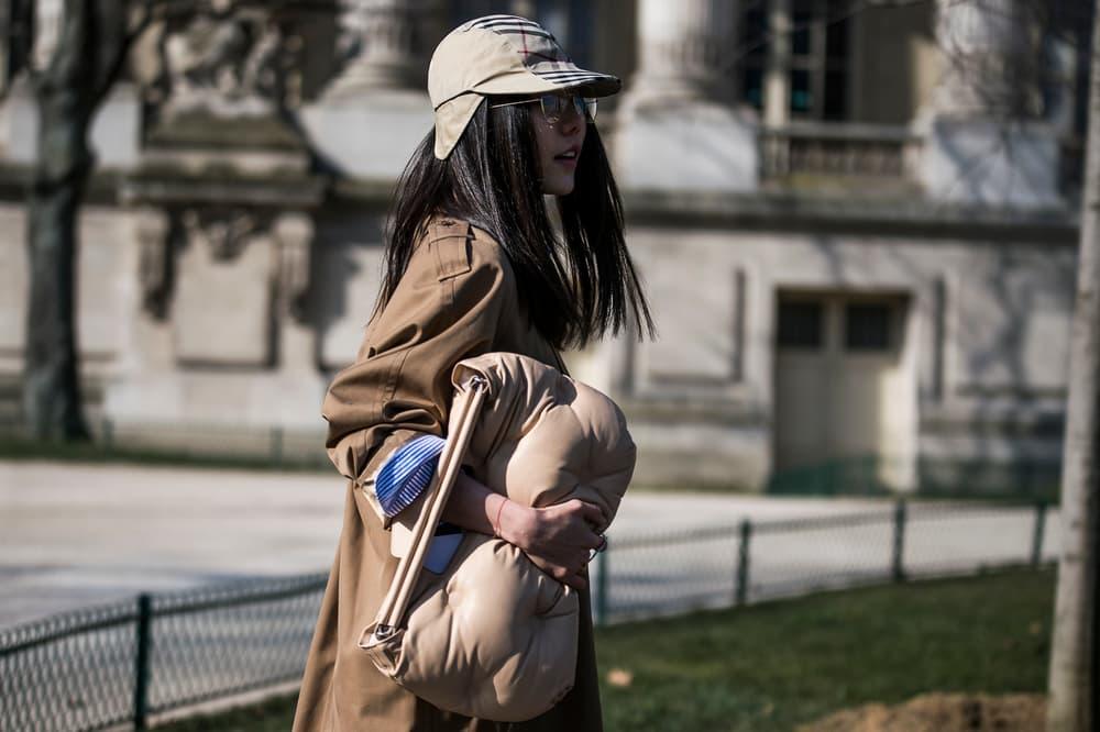 Paris Fashion Week 2018 Streetsnaps Women Burberry HAT