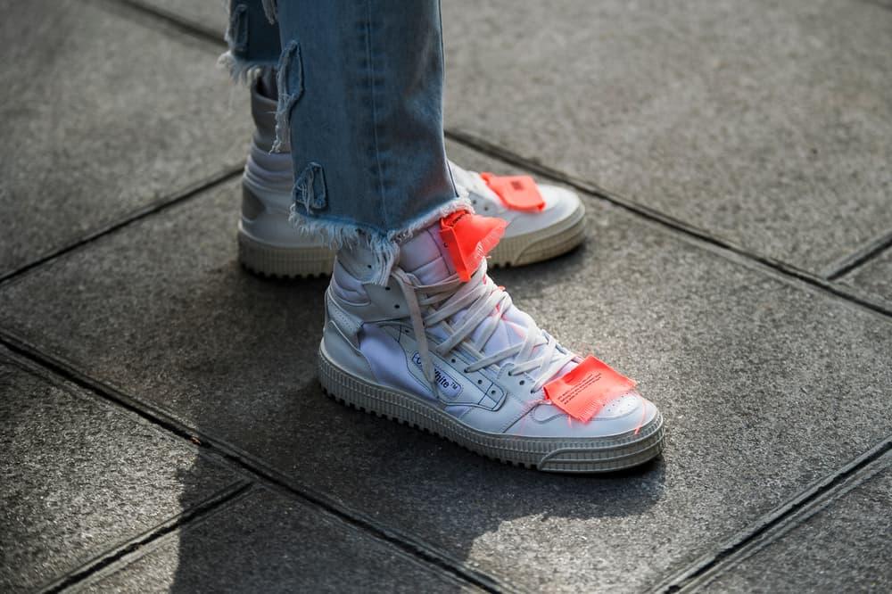 Paris Fashion Week 2018 Streetsnaps Women Off-White Sneakers