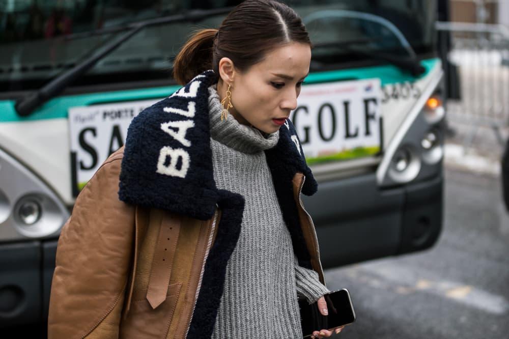 Paris Fashion Week 2018 Streetsnaps Women Balenciaga