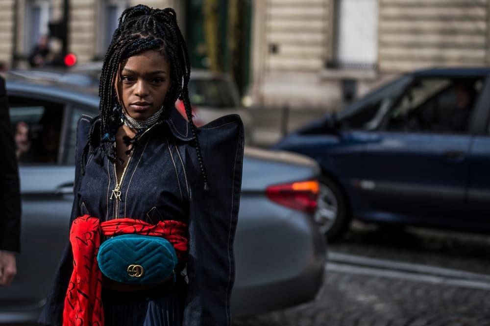 Paris Fashion Week 2018 Streetsnaps Women Selah Marley Gucci