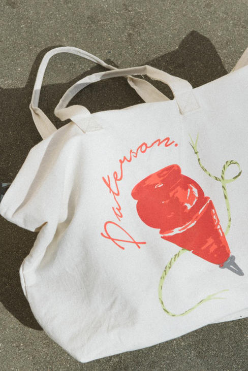 Paterson Spring/Summer 2018 Lookbook Spin Top Tote Bag
