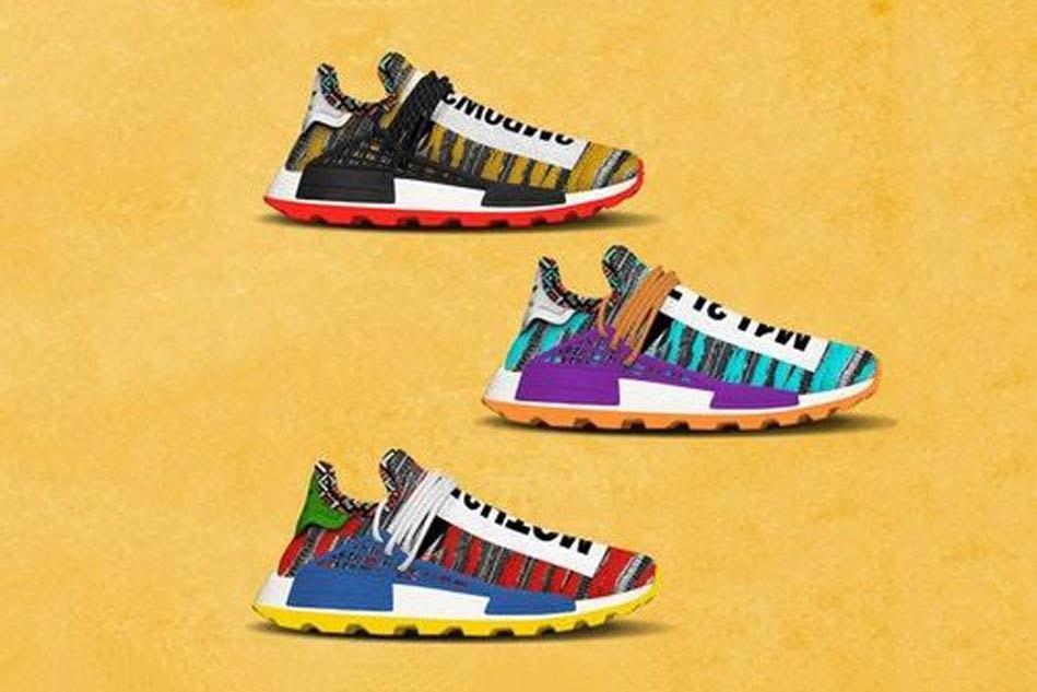 a5fdf7194 Pharrell x adidas Originals Afro Hu NMD Release